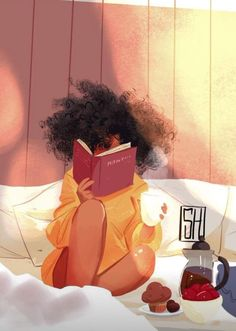 Black Art, this is me in bliss! Art And Illustration, Illustrations, Art Black Love, Black Girl Art, Black Girl Cartoon, Cartoon Kunst, Cartoon Art, Art Afro Au Naturel, Art Amour
