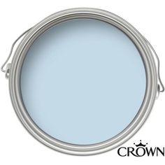 Crown Easyclean Breatheasy Palest Blue - Matt Emulsion Paint - 2.5L