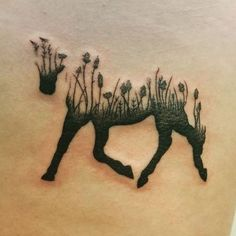www.horsealot.com, the equestrian social network for riders & horse lovers   Equestrian World : horse tattoo.