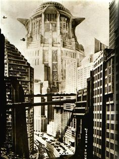 """From """"Metropolis"""" - Fritz Lang (1927)"""