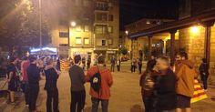 """Decenas de personas participan en caceroladas en """"solidaridad"""" con Cataluña"""