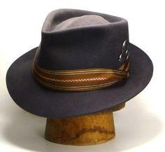 "Mens Hats - The REGULATEUR - Crown 4 1/2""; Brim 2 1/8"""