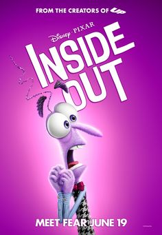 Gallery of 27 movie poster images for Inside Out Disney Inside Out, Fear Inside Out, Movie Inside Out, Disney And More, Disney Love, Arte Disney, Disney Magic, Disney Art, Disney Pixar