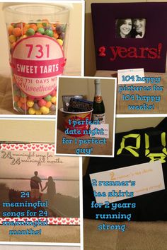 cute 2 year anniversary gifts for him