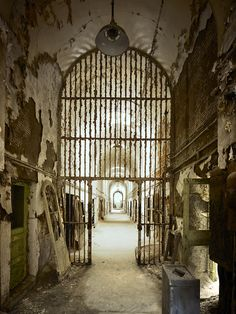 Eastern State Penitentiary III, Cell Block Three