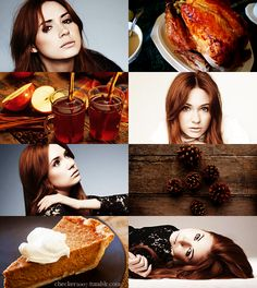 If the Months had Faces - November by ~checkers007 on deviantART - Karen Gillan