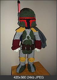 Crochet Boba Fett!