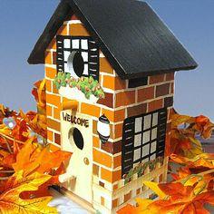 handpainted birdhouses   handpainted birdhouse   Birds, Birdhouses