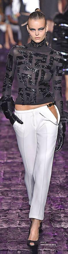 Atelier Versace Fall 2014 Couture ♔ Haute Couture Week Paris via: