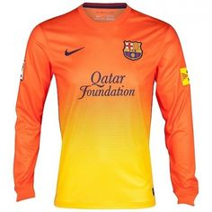 Barcelona 2012 13 Away Camiseta Fútbol Manga Larga  436  - €16.87   dd77c64236118