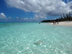 South Pacific cruise destination ex Australia Yejele Beach, Mare, New Caledonia