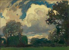 Cloud', 1903 - Jan Stanislawski (1860-1907)