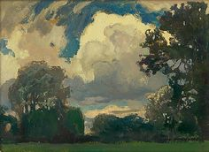 Cloud', 1903 - Jan Stanislawski (1860-1907)