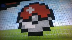 Minecraft Pixel Art Bola De Pokemon