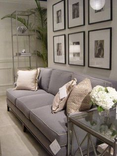 All I really want is a lovely gray sofa.