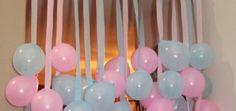 Cortina de globos para decorar Baby Shower