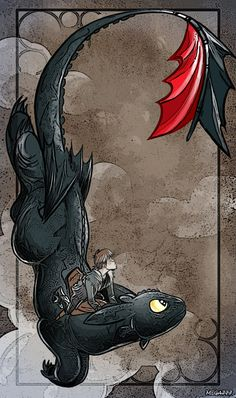 How To Train Your Dragons.