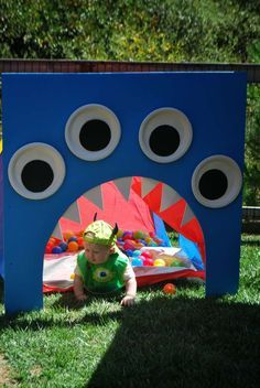Monsters Birthday Party Ideas | Photo 7 of 28 | Catch My Party