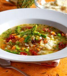 Κοτόσουπα με λαχανικά και παρμεζάνα | Γιάννης Λουκάκος