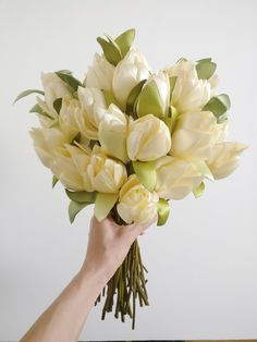 Handmade fabric flower bride bouquet by TheElephantJourney