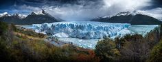 Photograph Perito Moreno Glacier panorama, Argentina, November 2013 by Ignacio Palacios on 500px