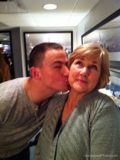 CT AND HIS MOM
