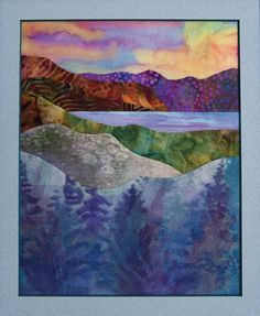 Points of View Landscape Quilts - Google Search by MarylinJ