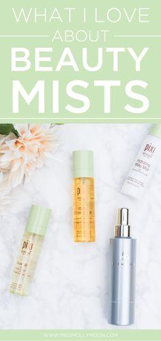 My Favorite Beauty Mists & Why I Love Them || @missmollymoon