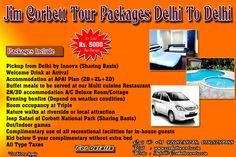 Jim corbett tour packages delhi to delhi in just Rs. 5000/-