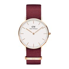 Daniel Wellington's Classic Roselyn is a timeless wrist watch with a white dial and rose gold details, perfectly matched with the playful Roselyn NATO strap. Nato Armband, Gold Armband, Dw Watch, Gold Watch, Bracelet Nato, Daniel Wellington Classic, Daniel Wellington Watch Women, Nato Strap, Rose Gold