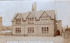 Undated picture of St. Barnabas School.
