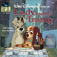 see hear read disney books lady and the tramp - Google Search