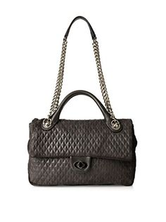 Charles Jourdan Women's Fisher Shoulder Bag, Black