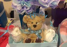 Make Washcloth Teddy Bear