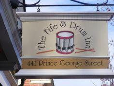 Where we honeymooned!!   The Fife & Drum Inn. Colonial Williamsburg, VA  Photo by: Amanda Shields
