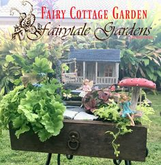 Watch This Amazing Fairy Cottage Garden Come Together! By Fairytale Gardens