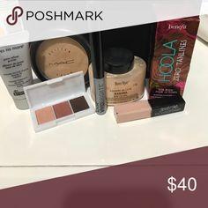 Brand name make-up bundle MAC Benefit Ben nye Dr brandt NYX MAC Cosmetics Makeup