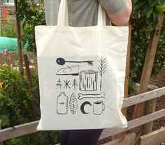 Common Symbols Tote Bag by robhodgson on Etsy