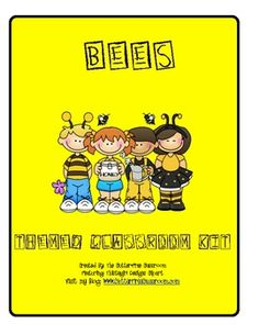 BEES Themed Classroom Kit ~ Printables & More. This 20 page set includes multiple printables to enhance your bee themed classroom