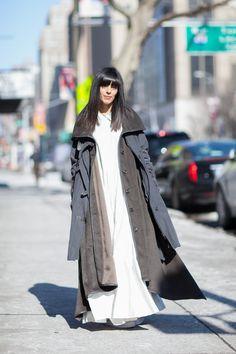 ストリートスナップニューヨーク - Laura Comolliさん | Fashionsnap.com