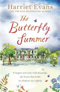 """The Butterfly Summer by Harriet Evans. Review: """"So glad I read this book, great read!"""""""