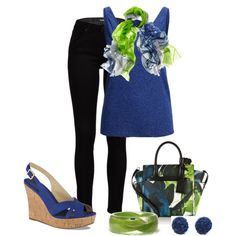 """""""Floral Print Tote"""" by sheree-314 on Polyvore"""