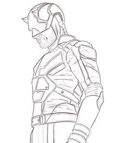 That part is done... #art #artist #artwork #illustration #draw #drawing #sketch #sketchbookpro #marker #ipad #daredevil #marvel #comics #superhero #instaartist #digitalart #netflix #autodesksketchbook #instagood #digitaldrawing