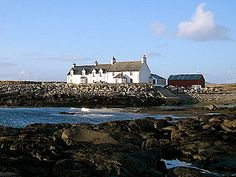 Polochar Inn stands in a beautiful location at the south-west tip of South Uist in the Outer Hebrides.