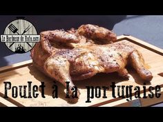 Share your videos with friends, family, and the world Weber Barbecue, Portuguese Recipes, Wok, Paella, Diet Recipes, Steak, Food Porn, Food And Drink, Turkey