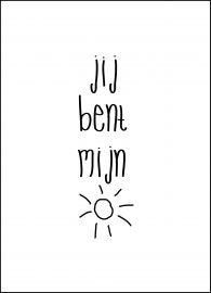 Jij bent mijn zonnestraaltje