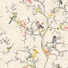 Camille Birdwatch 97891 bij Behangwebshop