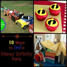 10 Ways to Host a Disney Infinity Party