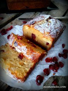 Greek Sweets, Greek Desserts, Greek Recipes, Fruit Recipes, Snack Recipes, Snacks, Greek Cookies, Cranberry Cake, Cheesecake Cake