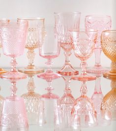 Sherbert Glasses from Casa De Perrin